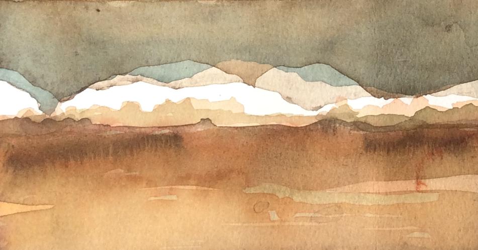 O cerrado e a pintura