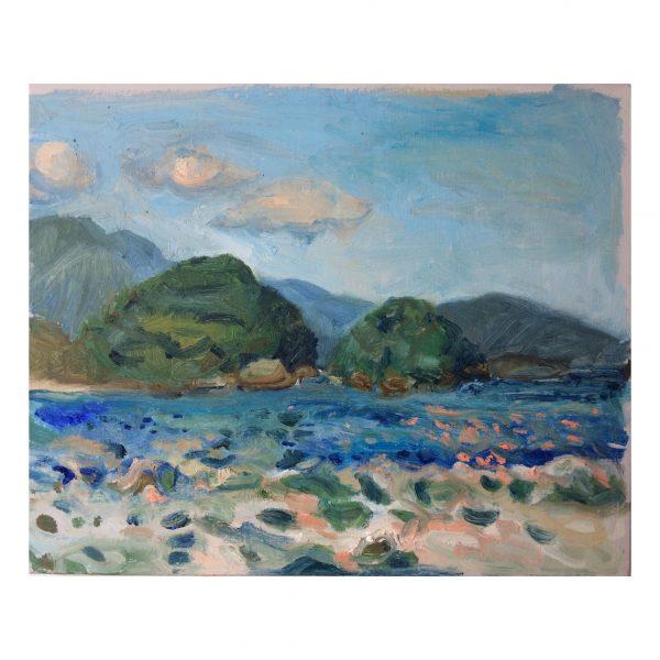 Pintura brasileira, pintura contemporânea, pintura a óleo, landscape, Paisagem, aquarela, brazilian painting, latin contemporary painting